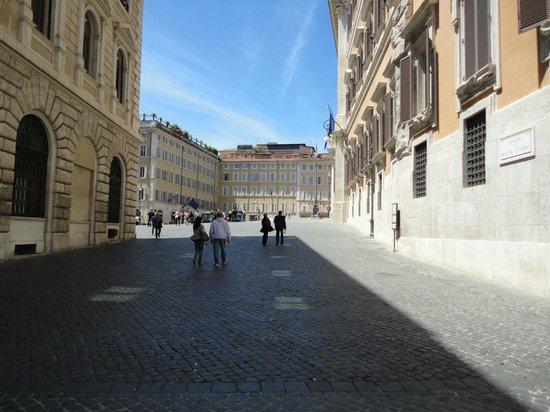 Hotel Nazionale: The Hotel square