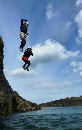 Coasteering NI - Private Tours: Leap of faith!