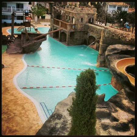 Pirates VIllage: pool view