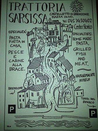 Castelletto, Italia: Volantino