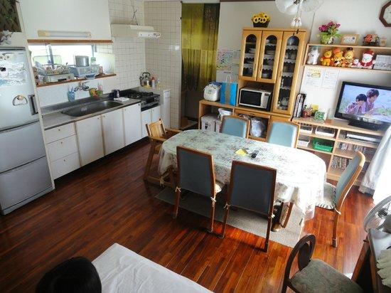 Pension Petite House: 室内