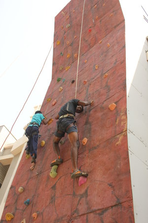 Urban Climbers - Artificial Rock wall