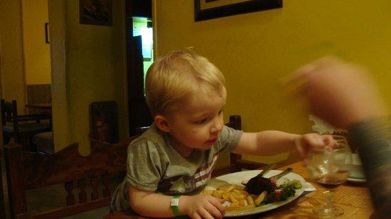 Moby Dick : Min søn der spiser