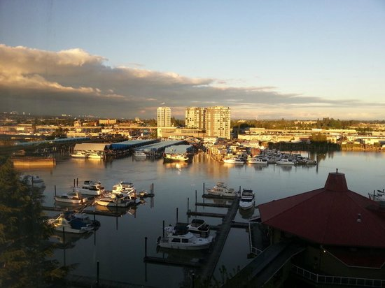 Pacific Gateway Hotel at Vancouver Airport: View from room