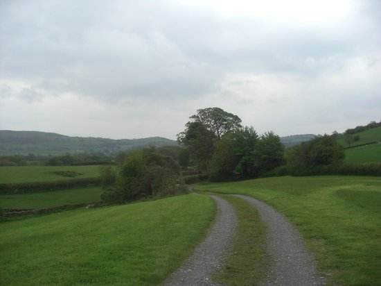 Jammy Patch: View from House to Cartmel