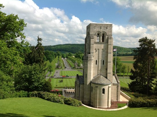 church at belleau wood picture of wwi marine memorial at belleau wood chateau thierry. Black Bedroom Furniture Sets. Home Design Ideas