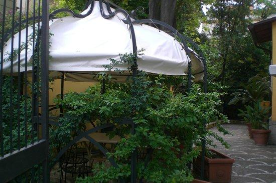 Hotel Relais Patrizi: petit jardin