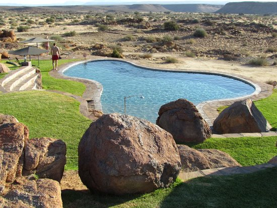 Canyon Lodge: The pool