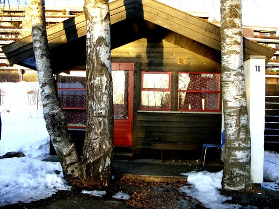 Bogstad Camp & Turistsenter: Outside of cabin