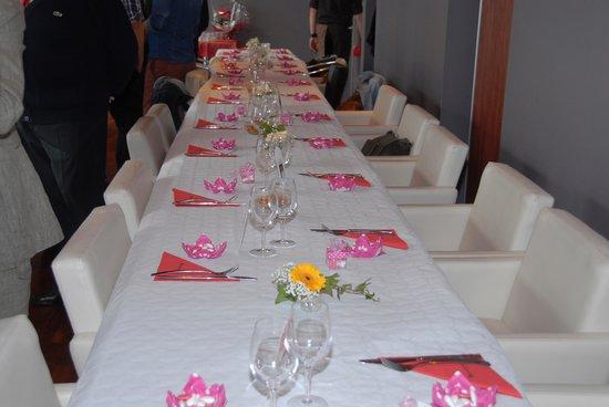 Hippopotamus Cambrai : Notre propre décoration de table !