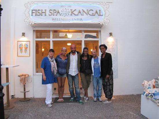 Fish Spa Kangal Santorini - Wellness Center: Wonderful people