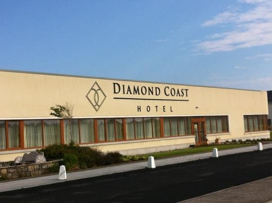 Diamond Coast Hotel: blue sky's in Ireland?