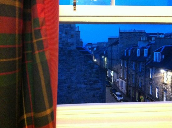 53 Frederick Street : View from our window of Thistle Street