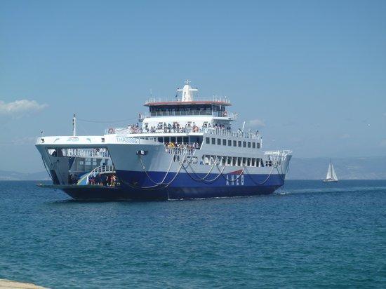 Astir Notos Hotel: The island ferry