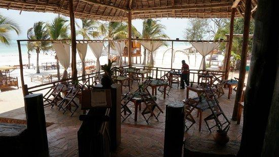 VOI Kiwengwa Resort : vue du restaurant