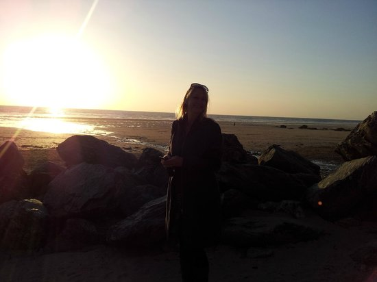 Kernow Trek Lodge: Watergate Bay Beach Sunset