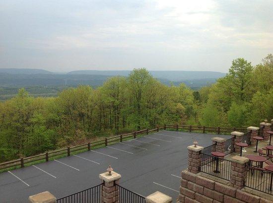 Penn's Peak: View from the restaurant