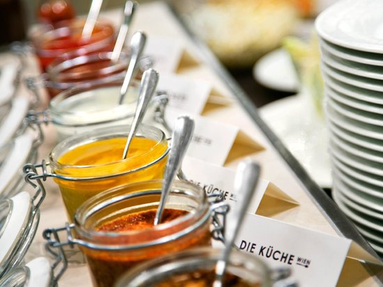 Palais Hansen Kempinski : Die Küche