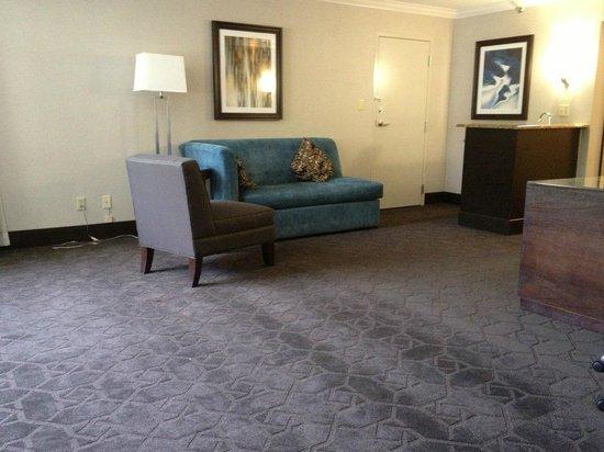 Hilton Durham near Duke University: Spacious but under furnished