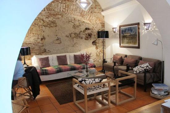 Albergaria do Calvario: Sala de estar.