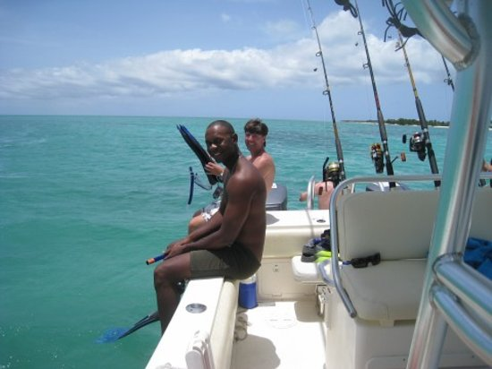Providenciales: Conch Diving