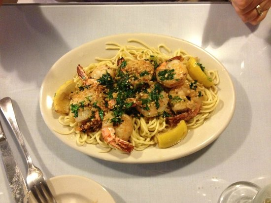 Questa Lasagna: Shrimp Scampi