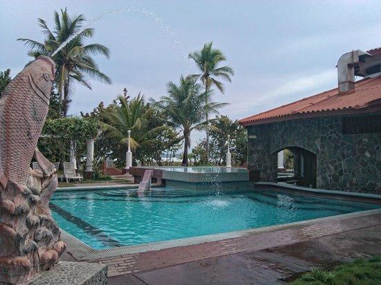Hotel Las Olas Beach Resort: área de piscina