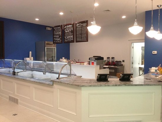 Lake Effect Artisan Ice Cream: Our new scoop shop at 79 Canal Street.