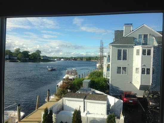 S P Oyster Co View From Upper Dining Room At
