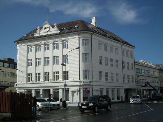 Radisson Blu 1919 Hotel, Reykjavik: Front of hotel