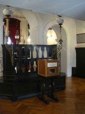 Synagogue: Interior da sinagoga