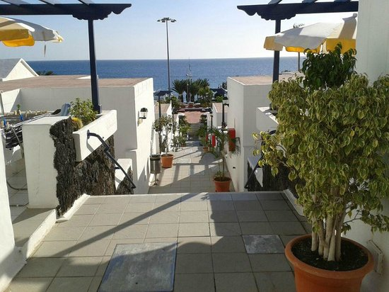 Playamar Apartments : Aussicht
