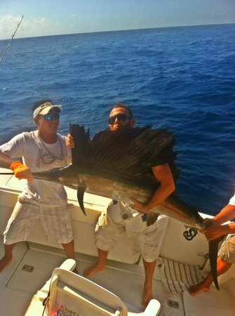 Me picture of cozumel charters puerto aventuras for Cozumel fishing charters