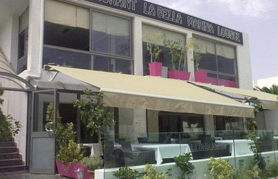 Exterieur picture of la bella marina restaurant for Exterieur restaurant