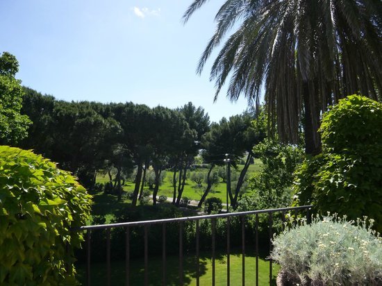 La Parrina: The view from our room.
