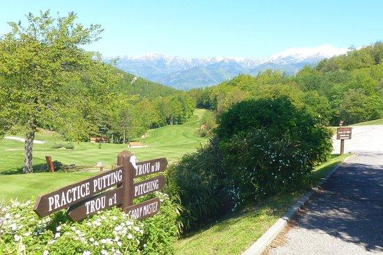Domaine de Falgos: Vue du golf