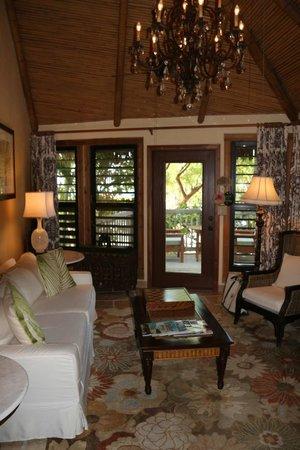 Little Palm Island Resort & Spa, A Noble House Resort: Living room