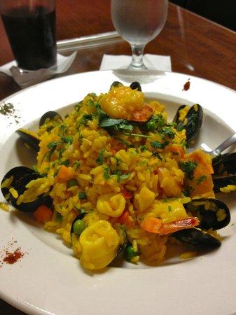 EatPeruvian Restaurant : Arroz con Moriscos