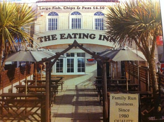 The Eating Inn Blackpool Menu Prices Restaurant