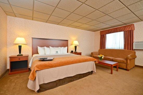 Comfort Inn of Butte: Whirlpool King Suite