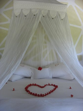 Matachica Resort & Spa: Flowers on Wedding Day
