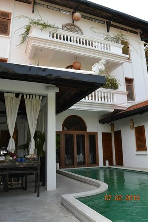 The Governors House Boutique Hotel Phnom Penh: Hotel pool