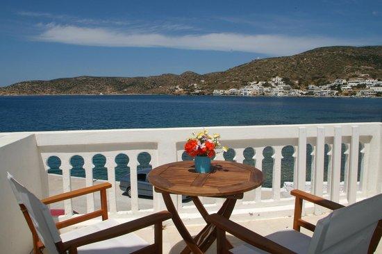 Porto Katapola Pension: The view from the rooms at Porto Katapola / Amorgos