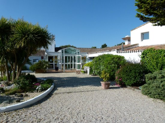 La Reception Picture Of Hotel Fleur De Sel Noirmoutier En L Ile