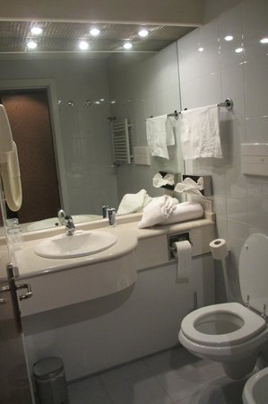 Idea Hotel Piacenza: bathroom