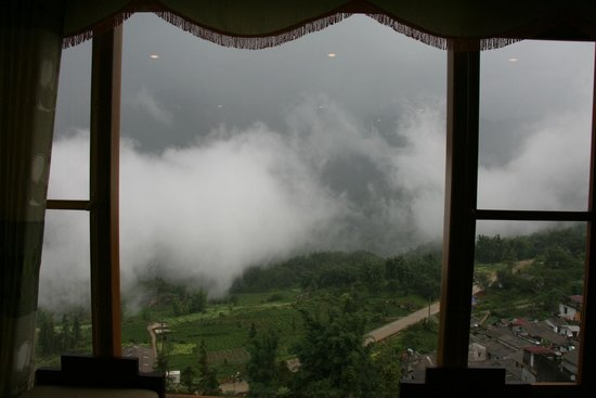 Sapa Lodge: View from our room