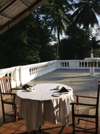 The Mansion: terrace