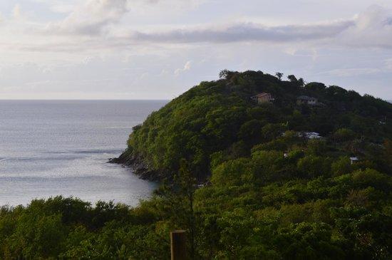 Windjammer Landing Villa Beach Resort: the view from our room