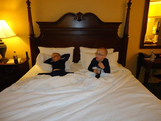 Residence Inn West Orange: My grandsons loved their stay!