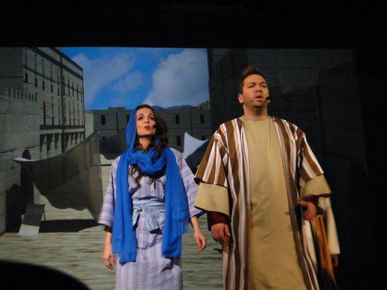 Biblical Times Dinner Theater: part of the dramatic presentation